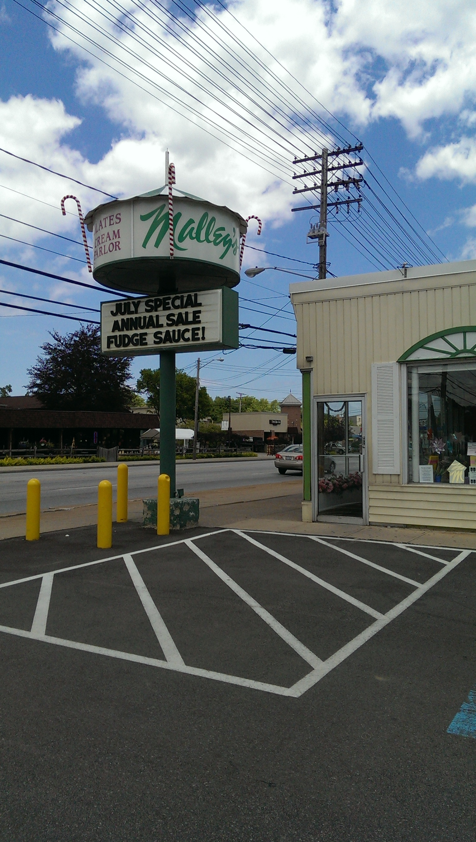 Malley's Chocolates & Ice Cream Parlors | Cleveland Rocks ...