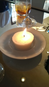 Suet candle