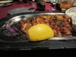 Parmesan Crusted Tilapia